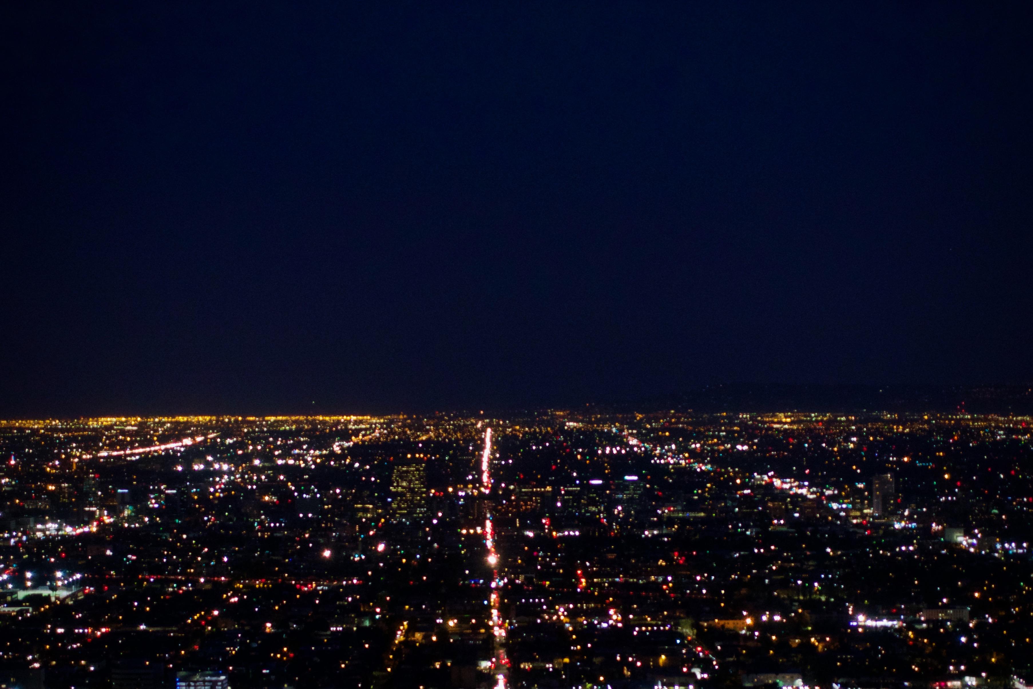洛杉磯夜景